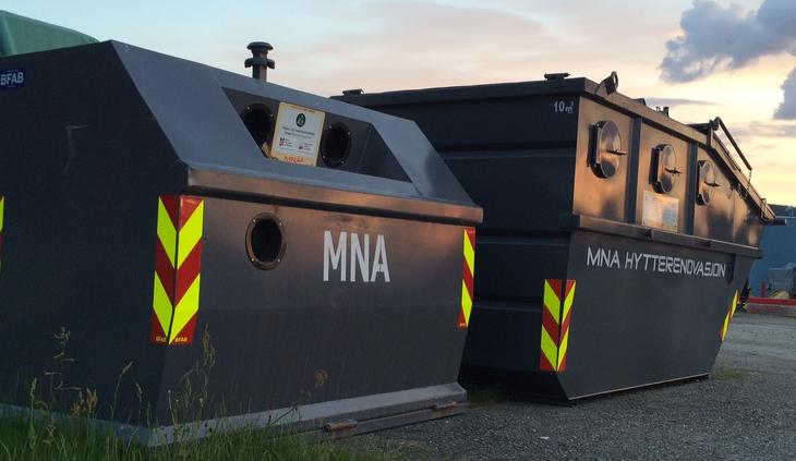 MNA Hyttecontainer