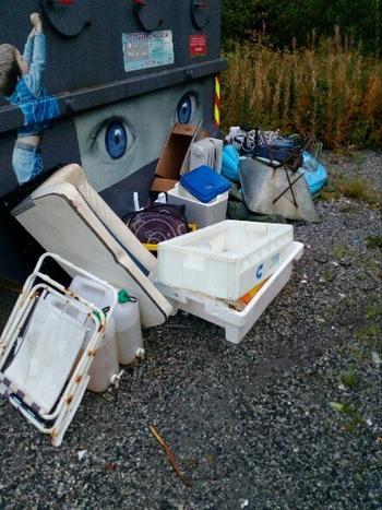 Forsøpling Horven