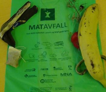 matavfallspose og matavfall